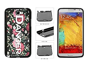 linJUN FENGDancer on Floral Background Plastic Phone Case Back Cover Samsung Galaxy Note II 2 N7100