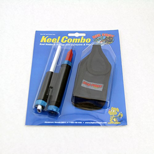 Big Foot Tools Layout Tool Keel Holder with Crayons and Pencil by Big Foot Tools