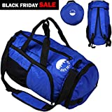 Cheap Packable Big Duffle Bag – Camp xl 40l Duffel Bag – Packable Foldable Backpack – Large 3way Bag for Women and Men