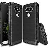 Ringke [Onyx] Compatible with LG G5 Case [Resilient Strength] Flexible Durability, Durable Anti-Slip, TPU Defensive Case for LG G5 2016 - Black