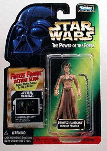 Star Wars - POTF - Picture Card - Princess Leia Organa (Slave) - as Jabba's Prisoner]()