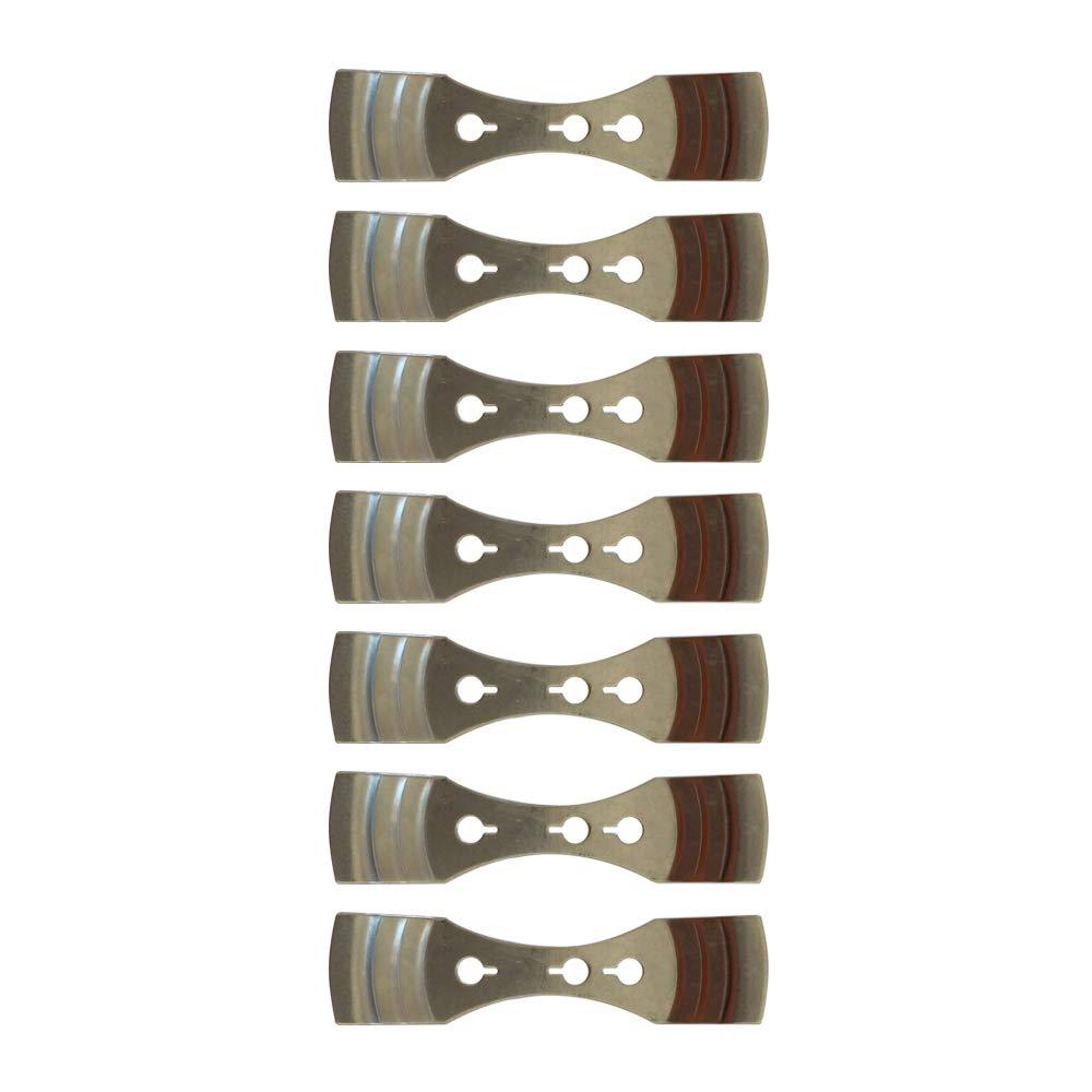 Aparato de Metal para Centrar Mechas para la Elaboració n de Velas Cozyours 7 piezas