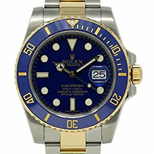 Rolex Submariner swiss-automatic mens Watch 116613 (Certified Pre-owned)