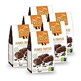 Belvas Belgian Flaked Truffles - Dark Chocolate w/Cane Sugar 3.5 oz (6 Boxes)