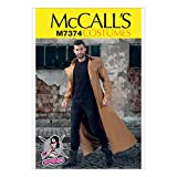 McCall's Patterns M7374 Collared & Seamed Coats, MWW (38-40-42-44)