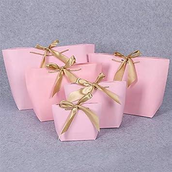 Queta - Bolsas de Papel para Ropa Interior Personalizadas para Hombre y Mujer Rosa Rosa