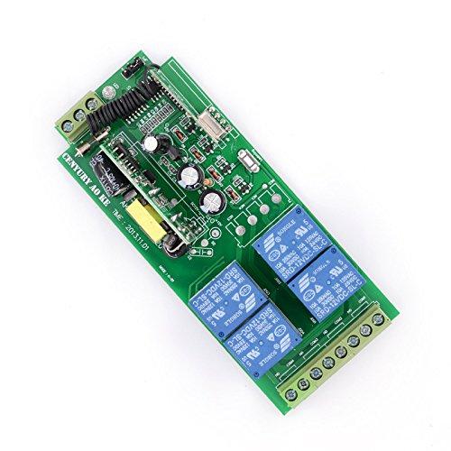 Lejin AC85v ~ 250V 110V 230V 4CH 4 Channel Radio Remote Control Wireless Remote Control Switch 220V Relay Output Radio RF Transmitter Radio System 433Mhz Receiver by Lejin (Image #4)