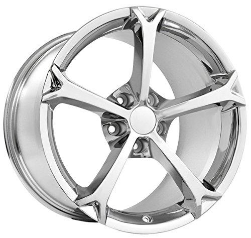 Replica 130C Corvette Grand Sport 18×9.5 5×4.75″ +40mm Chrome Wheel Rim