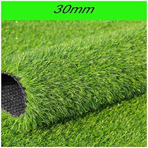 YNFNGXU 屋内/屋外での使用に適した自然な人工芝生天文芝生フェイクマットを厚くする30mmの庭 (Size : 2x2m)