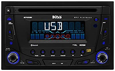 BOSS Audio Touchscreen DVD/CD/USB/SD/MP4/MP3 Player Receiver with Navigation Bluetooth Streaming Bluetooth Hands-free with Remote