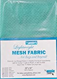 "Annie PBA02033 Light Weight Mesh Fabric, 18"" by 54"", Turquoise"