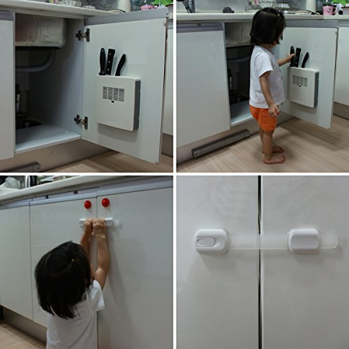 Adjustable Child Safety Locks By Luv4baby Latches To