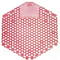 Fresh Products 3WDS60SAP Wave 3D Urinal Deodorizer Screen, Red, Spiced Apple Fragrance, 10 EA/BX