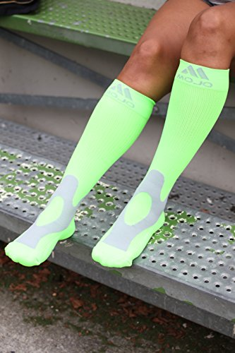 8f3c45baf69 XXX-Large Mojo Compression Socks Plus Size for Men   Women 20-30mmHg  Breathable Coolmax Blend and Soft Easy to get on Materials.