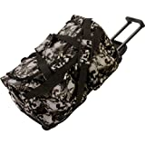 Extreme Pak Red-Eye Skull Camo Water-Resistant 21'' Trolley Bag