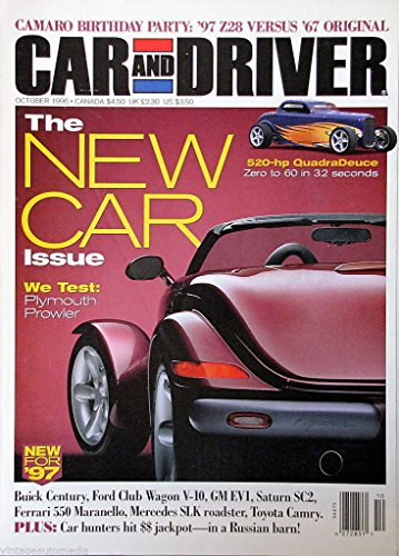 Car and Driver Magazine - The New Car Issue - October 1996
