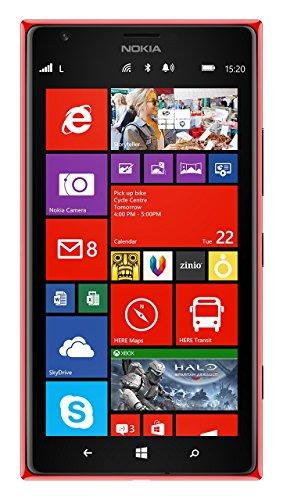 Nokia Lumia 1520 RM-940 16GB GSM + AT&T 4G LTE Quad-Core Windows Phone w/ 20MP Camera - Red (No Warranty)