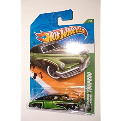 Hot Wheels 2011 Treasure Hunts Tucker Torpedo 1/15 Green: Toys & Games
