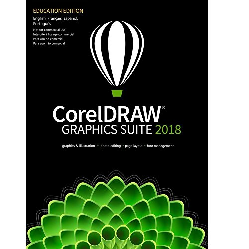 CorelDRAW Graphics Suite 2018 Education Edition for Windows by Corel