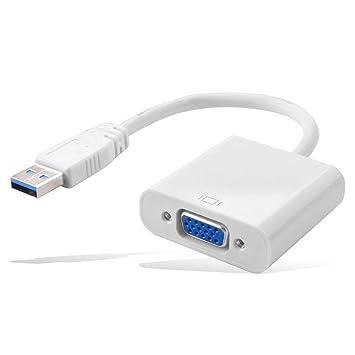 ceanfly USB 3.0 A VGA Cable de vídeo pantalla adaptador de ...