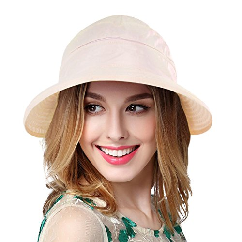 Verabella Women UPF 50+ UV Sun Protection Convertible 2 in 1 Visor Beach Golf  Hat d3f6d7a42d68