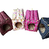 (US) Amariver Hammock Hanging Bed Toy House Cage for Rabbit Guinea Pig Ferret Small Animals