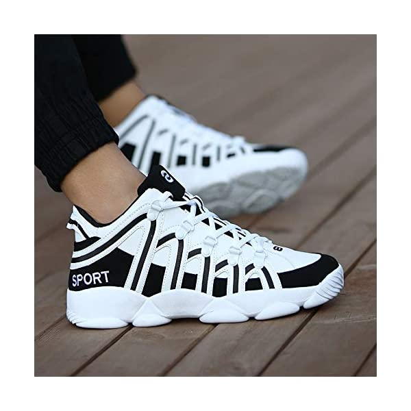 ea249d5c06953 JJLIKER Mens Boys Fashion Athletic Sneakers Comfort Basketball Shoes  Outdoor Sport Running Training Gym Shoes