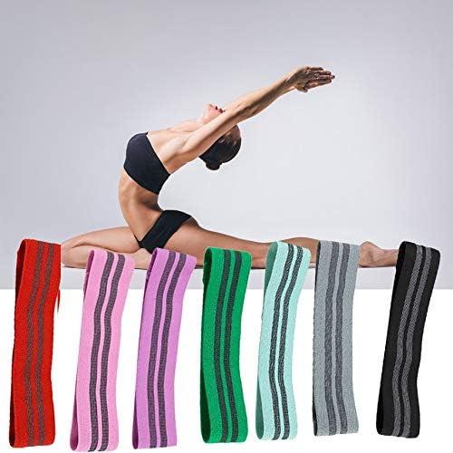 Ningbao951 Cinturón elástico de algodón para Yoga, explosión, Nalgas Multicolores, Banda elástica Antideslizante de Goma elástica: Amazon.es: Hogar