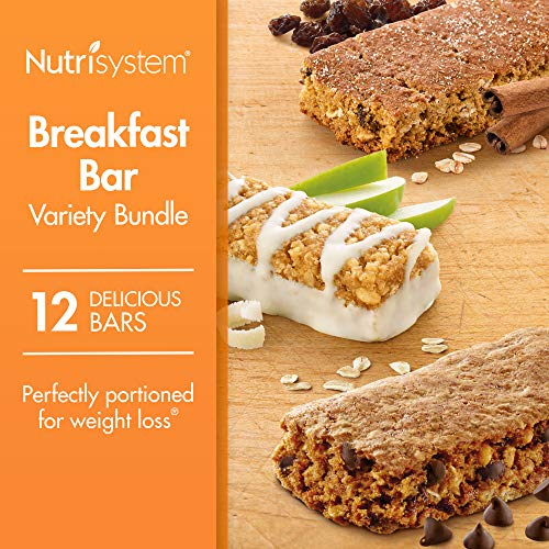 Nutrisystem® Breakfast Bar Variety Bundle, 12 Count Bars