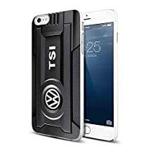 Volkswagen VW TSI Black Engine for iPhone Case (iPhone 6/6s white)