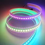 LED Strip Light , Dreamcolor 3.2ft WS2812B DC 5V 144Leds TUB IP67 Waterproof High Brightness Chip SMD LED Flexible Strip Light lamp