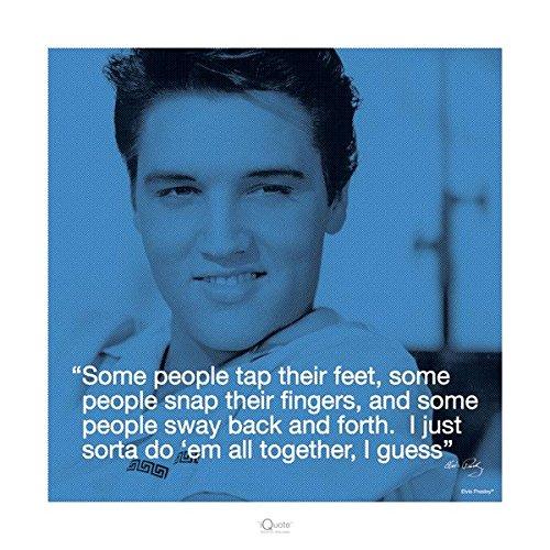 Elvis Presley: Sway Art Poster Print