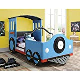 Coaster 400411 Home Furnishings Train Bed, Twin, Blue