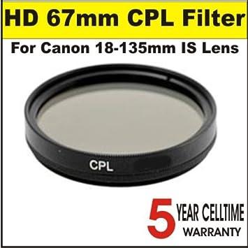 67mm Circular Polarizing Filter for Nikon AF-S DX Nikkor 18-135mm f//3.5-5.6G ED-IF Made in Japan