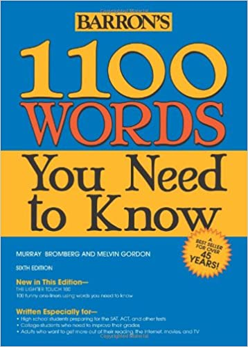 Amazon.com: 1100 Words You Need to Know (9781438001661): Murray ...