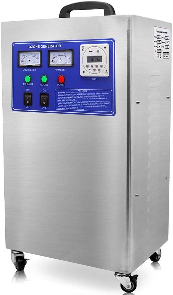 sailorth Purificador de Agua Desodorante generador de ozono 6 g/h Purificador de Aire Industrial Comercial para hoteles, supermercados, fábrica: Amazon.es: Hogar