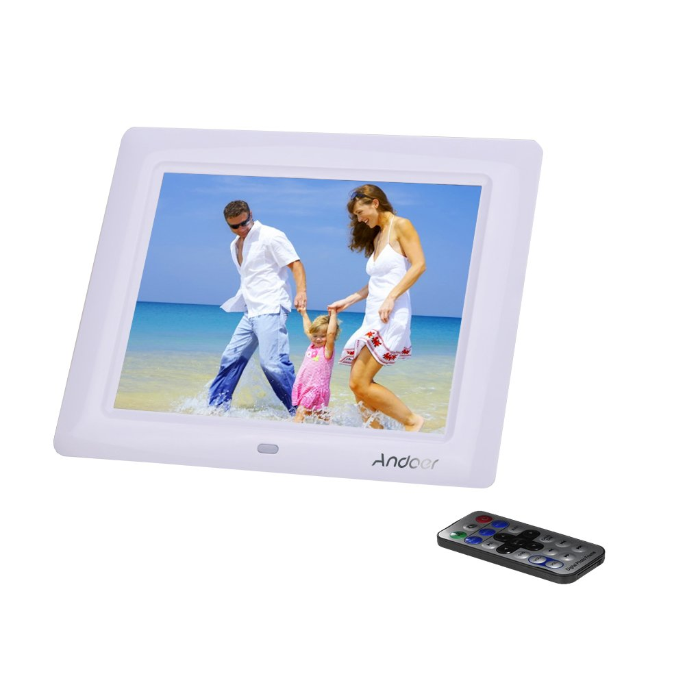 Andoer 8 HD TFT-LCD Marco Digital de Fotos MP3 MP4 Movie Player