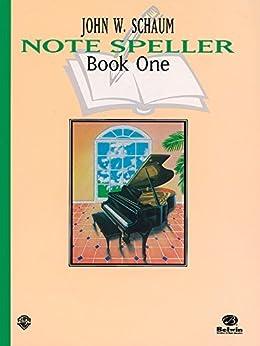 Schaum Note Spellers Book 1 (Schaum Method Supplement) by [Schaum, Schaum, John W.]
