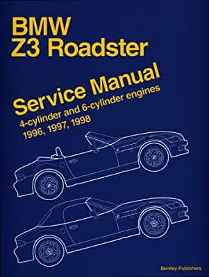 bmw z3 roadster service manual 4 cylinder and 6 cylinder engines rh amazon com 1997 BMW Z3 Convertible 1997 BMW Z3 Convertible