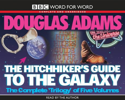 release the hitchhiker s guide to the galaxy the complete trilogy of five volumes by. Black Bedroom Furniture Sets. Home Design Ideas