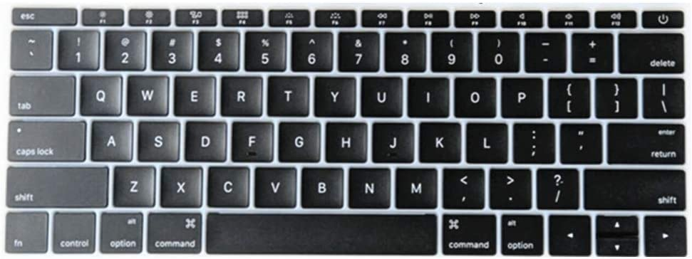 "New Replacement Keyboard Keycaps Keys,Full Set of US Replacement Keycaps QWERTY for MacBook Pro 13"" / 15"" A1706 A1707 A1708 2016 2017 Year for MacBook 12"" A1534 2017 Year"
