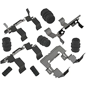 ACDelco 18K1090 Professional Front Disc Brake Caliper Hardware Kit with Seals and Bushing