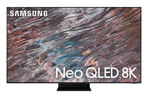 Samsung 85 Inches QN800A Neo QLED 8K Smart TV (2021), Silver, QA85QN800AUXZN
