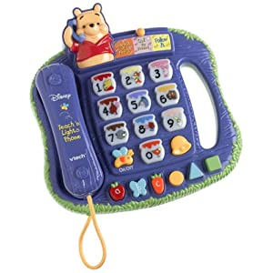VTech Winnie The Pooh - Teach 'n Lights Phone