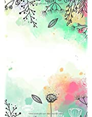 Libretas de Puntos: Cuadernos con Puntos, Cuaderno A5 Puntos, Cuaderno Dot, Cuaderno Dot Grid - Libreta Acuarela #23 - Tamaño: A5 (14.8 x 21 cm) - 110 ... ofertas hoy,libreta pequeña,libretas bonitas)