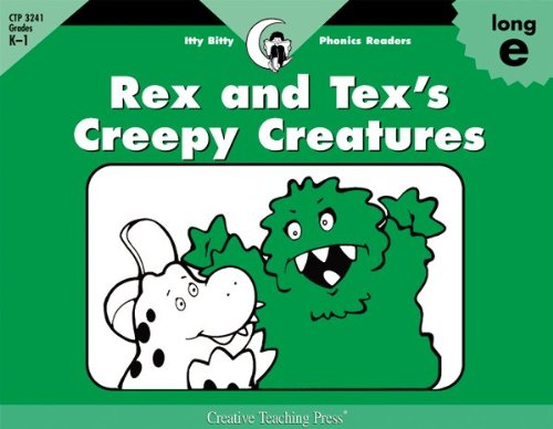 Rex and Tex's Creepy Creatures, Itty Bitty Phonics Reader (Itty-bitty Phonics Readers) pdf
