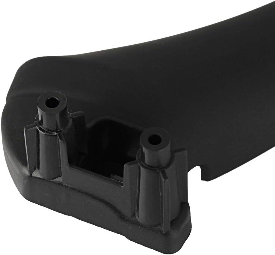 Black Yctze Car Door Panel Handle Cover,Right Inner Door Panel Handle Pull Trim Cover 51417230850