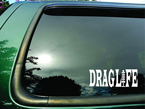 Drag Life Lights - Die Cut Racing Vinyl Window Decal/sticker for Car or Truck 3