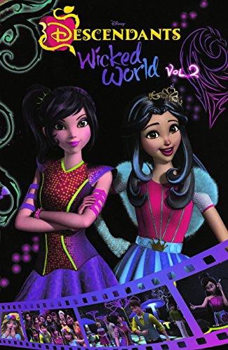 Disney Descendants: Wicked World Cinestory Comic, Volume 2 (Turtleback School & Library Binding Edition)