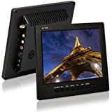 8 inch TFT LCD 4:3 Color, ZOTER Video Portable Monitor Screen for PC CCTV Security